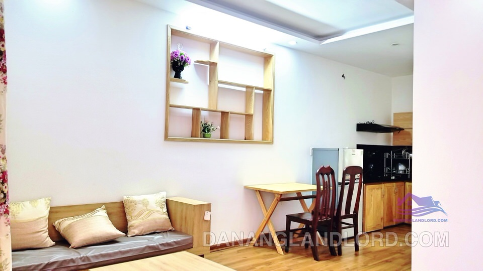 1 bedroom apartment in My An ward, quiet, free shared pool – A137