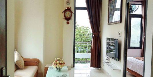 Bright natural light apartment with balcony, quiet area, close to Dragon Bridge – A232