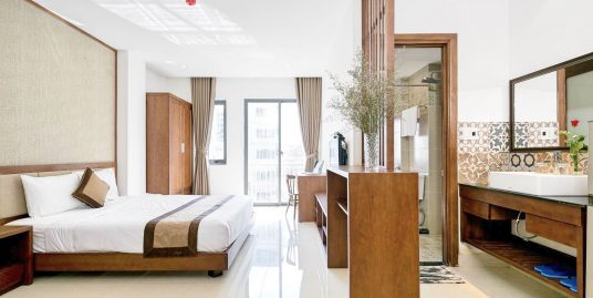 Studio Apartment with balcony, An Thuong Walking Street – A466