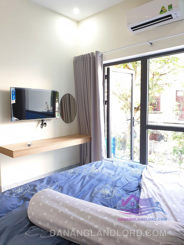 Blue sky – Airy studio apartment in My An area – A176