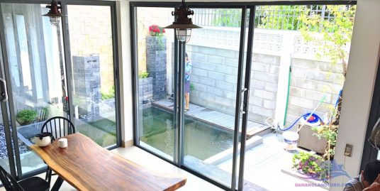 Koi fish pond – 2 bedroom house in Son Tra area – B219