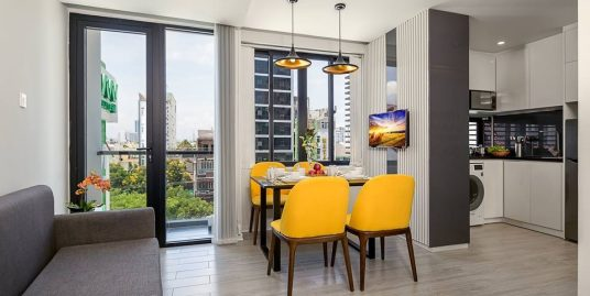 Yellow – 1Br apartment, Swimming pool, Duong Dinh Nghe st – A247