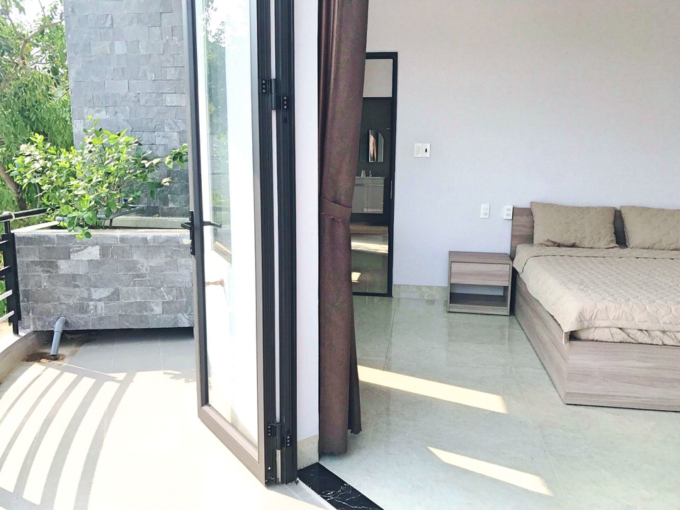 1br Apartment With 2 Balconies, Nam Viet A Area – A405