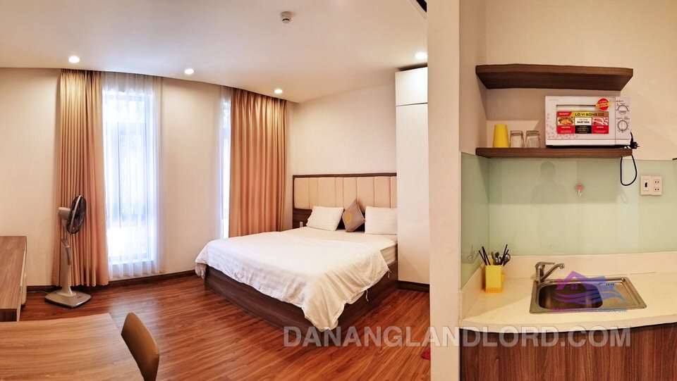 Studio apartment for rent in Da Nang city center – A323