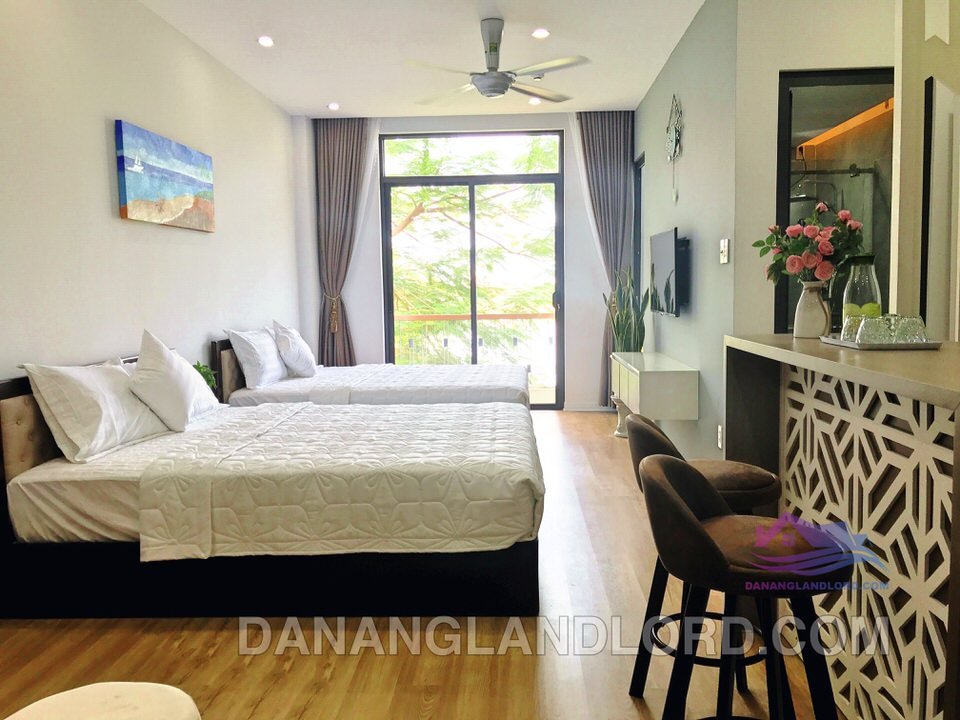 Studio apartment, My An area, Han river view – A418