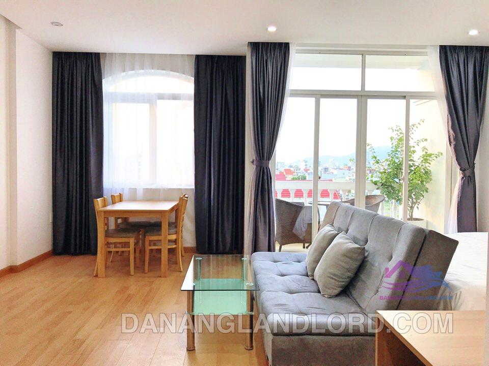 Studio Apartment, Balcony, near Ho Xuan Huong st – A425