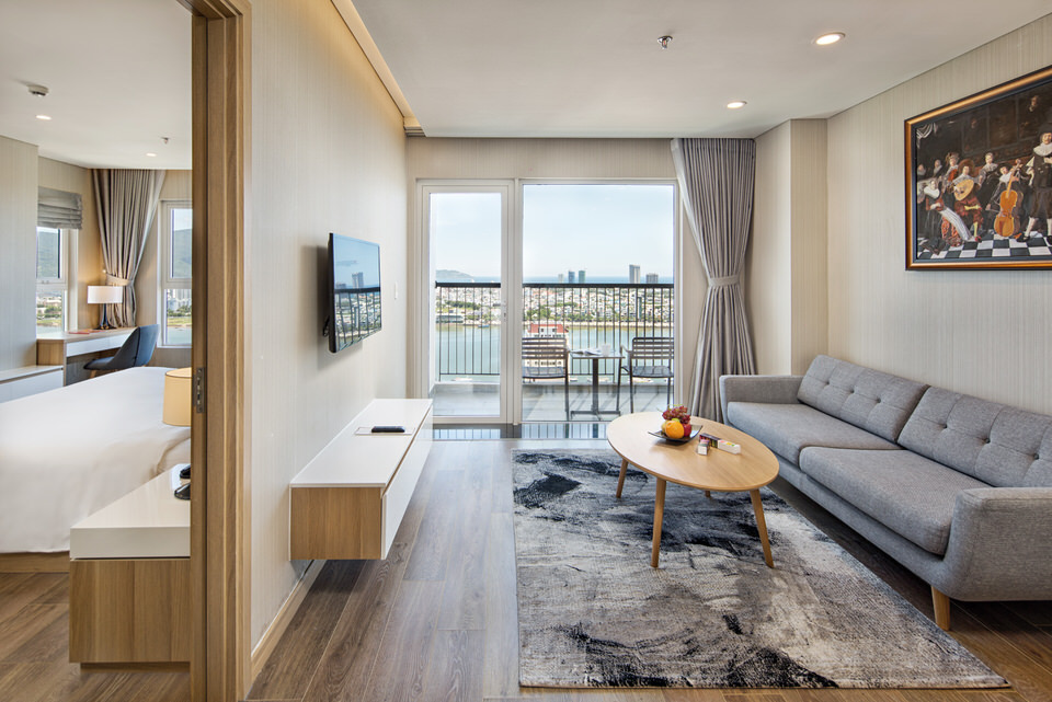 Luxury 1br apartment, near Han river – A317