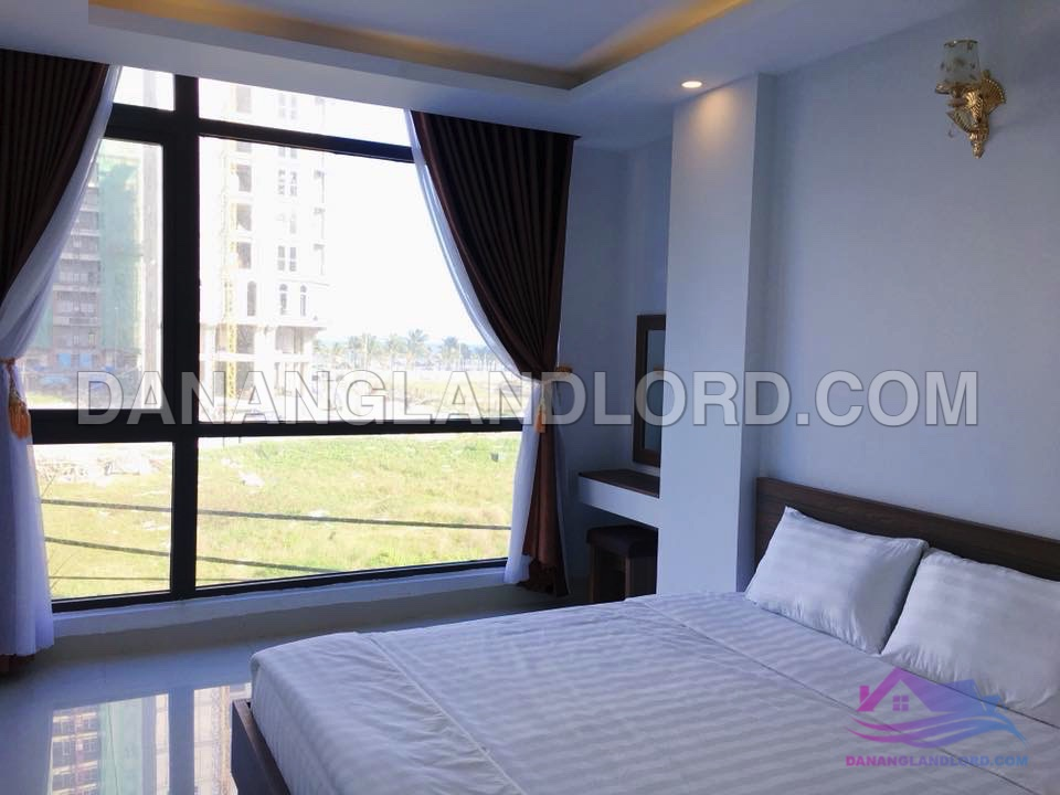 Sea view one bedroom apartment for rent in An Thuong area – A164