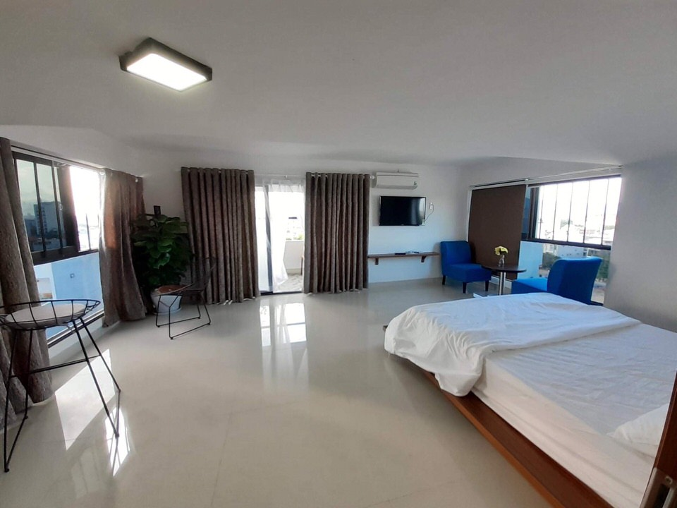 Penthouse with a nice view, Airy, near Ho Xuan Huong – A452