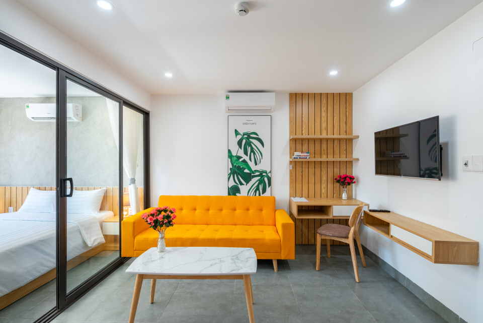 1 bedroom apartment, near Pham Van Dong beach – A506