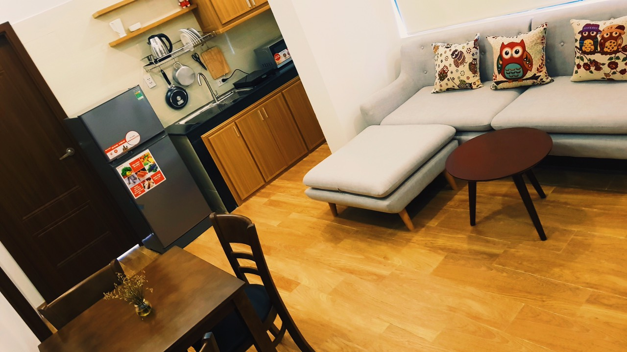 Nice and convenient 2Br apartment in the city center, near F. Home – A334