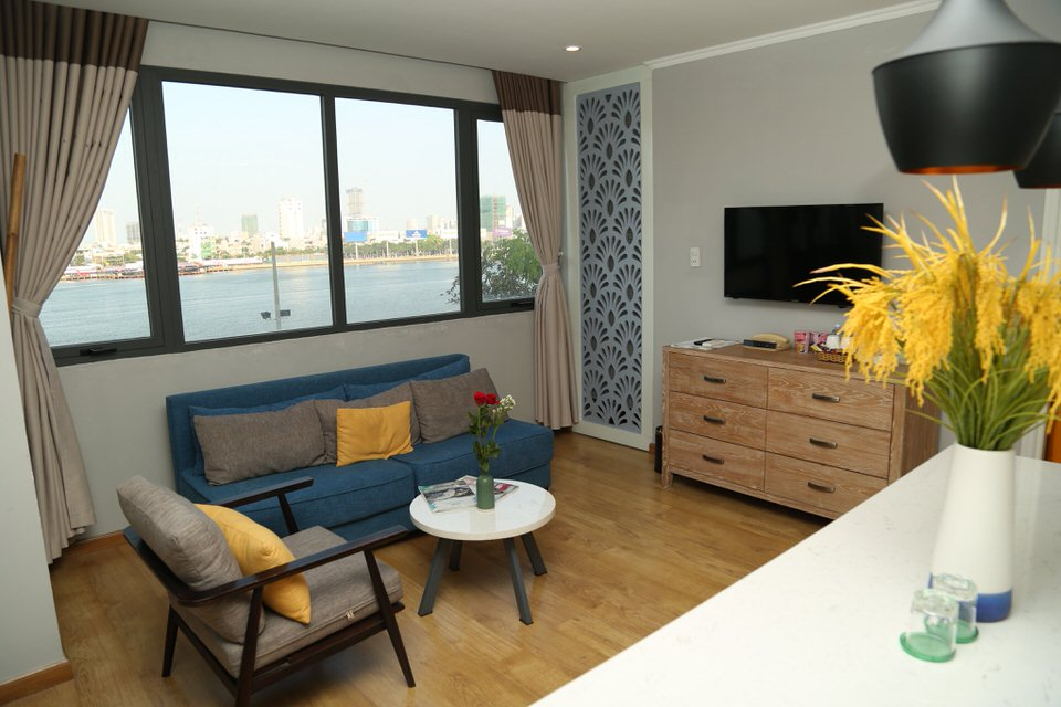 Apartment 2Br, Bach Dang street, Han River View – A344