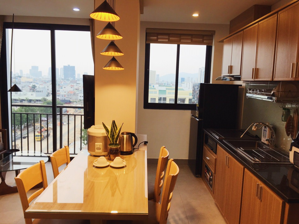 Apartment in An Thuong with 2 bedrooms, near My Khe beach – A499