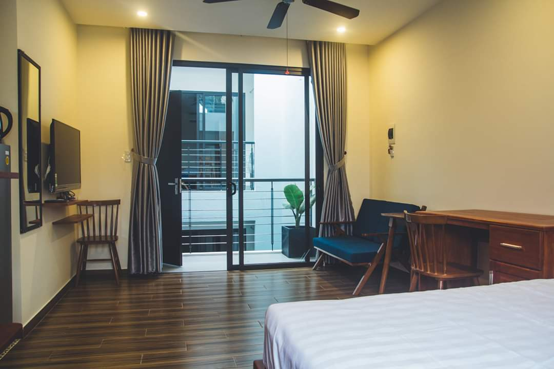 Spacious studio apartment, near Nguyen Van Thoai Street- A722