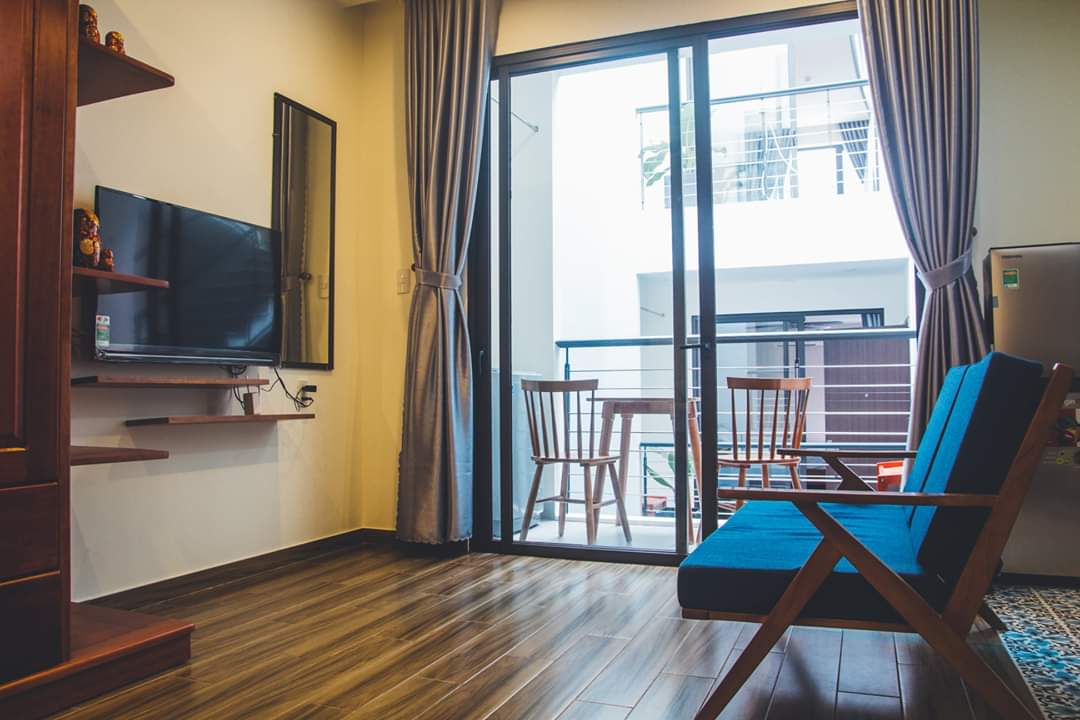Nice studio apartment, near My Khe beach, near Nguyen Van Thoai Street – A724