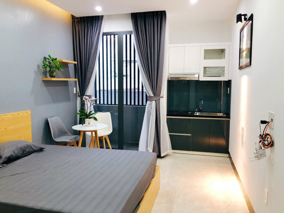 Lovely studio apartment in An Thuong area- A755