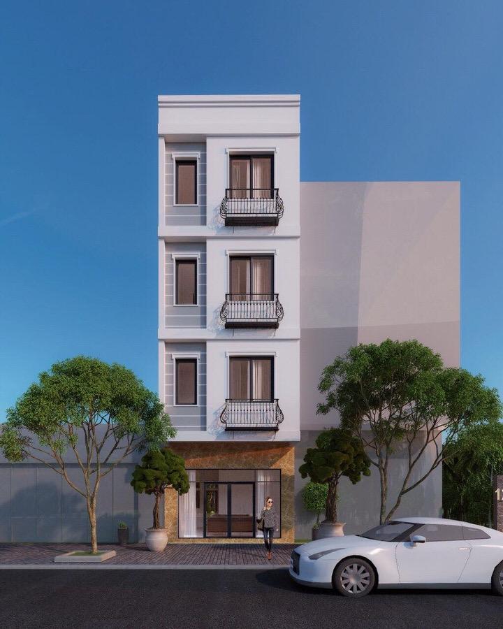 4-storey house, 8 apartments on Do Ba street – B455