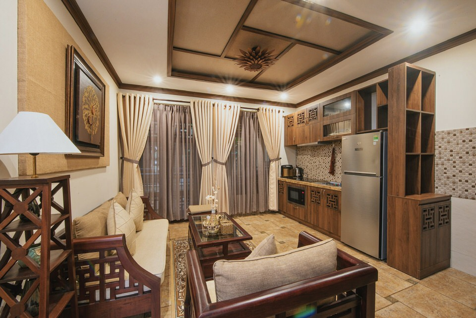 Luxury 1Br apartment close to Pham Van Dong Beach – A818