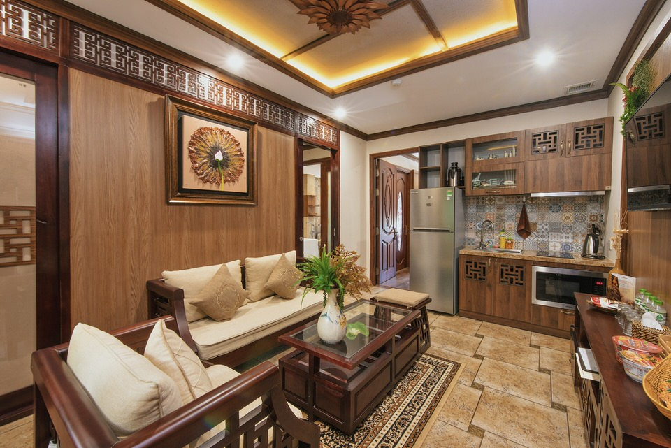 Luxury 2Br apartment close to Pham Van Dong Beach – A819