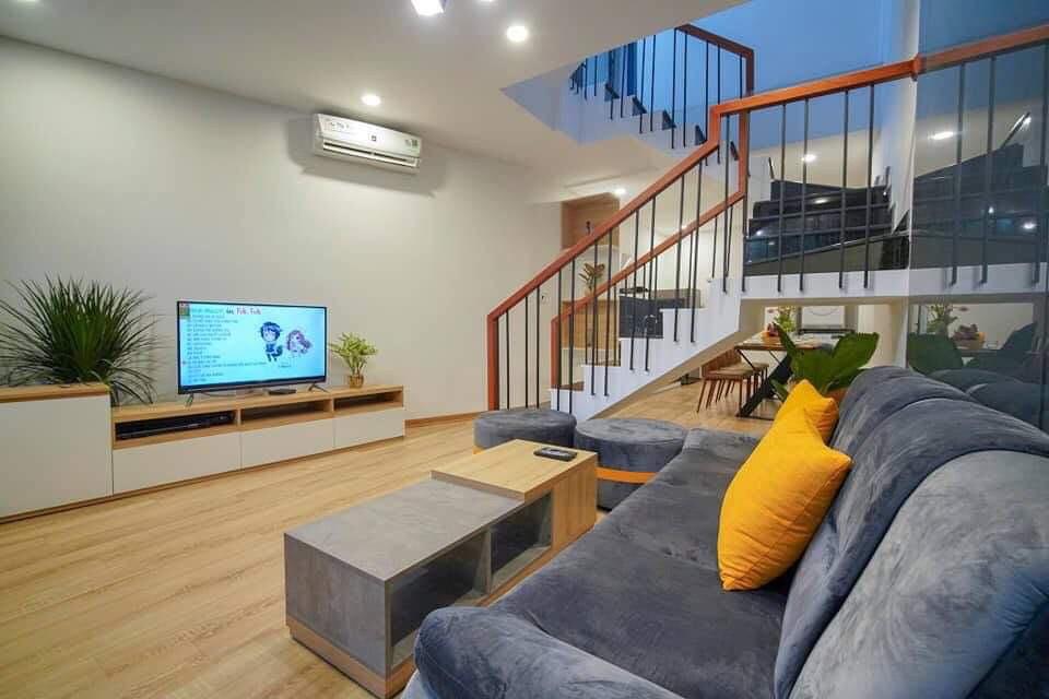 4 bedrooms house near Vo Van Kiet, My Khe beach – B521