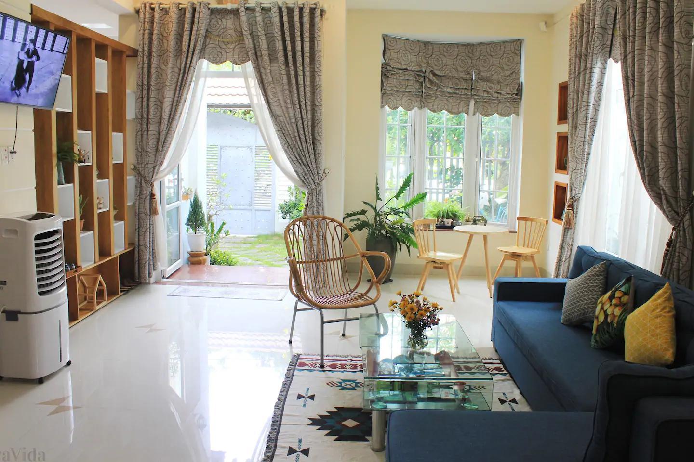 4Br garden villa near Ho Xuan Huong – B472