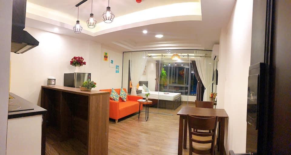 1Br apartment with big window An Thuong area – C003
