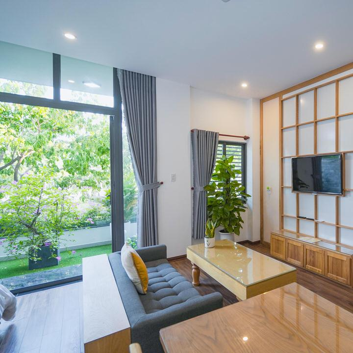Studio apartment 50m2 with balcony, near Lotte Mart – A379