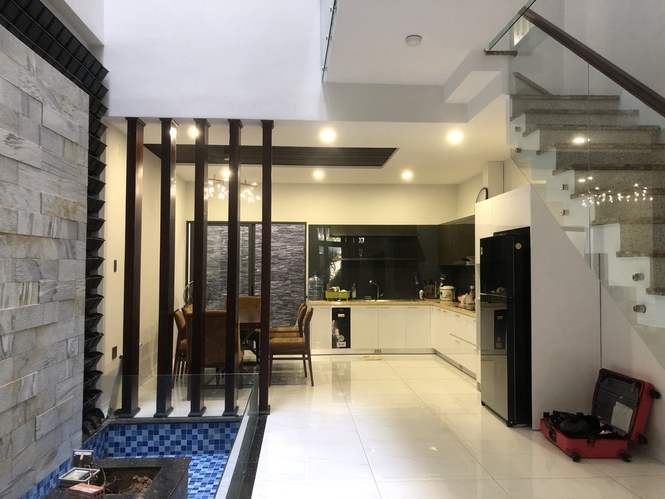 House with 3 floors 3 bedrooms 100m2, Nam Viet A area- B707