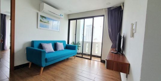 Two bedrooms apartment Near Pham Van Dong beach, park view – A881