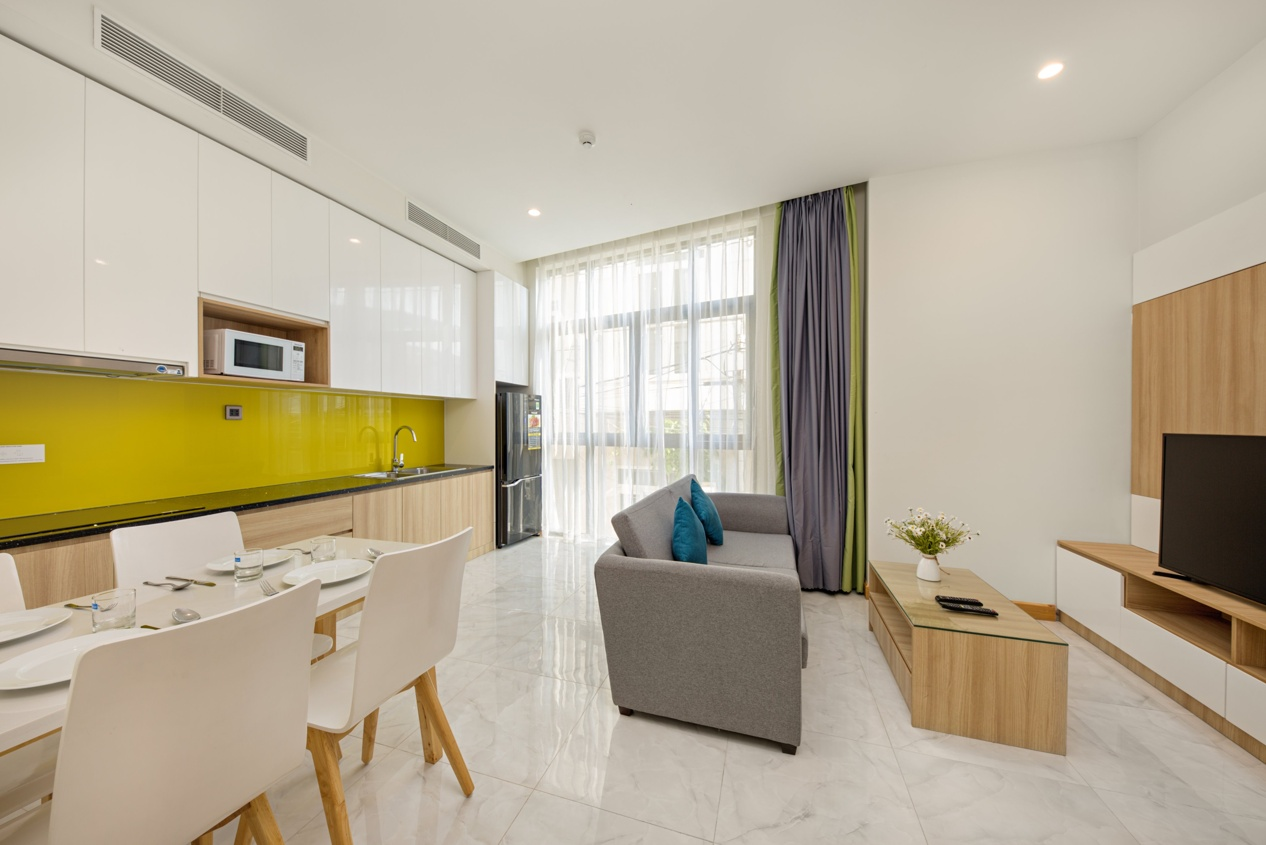 All-Inclusive Two-Bedroom Apartment In Bac My An Area – C035