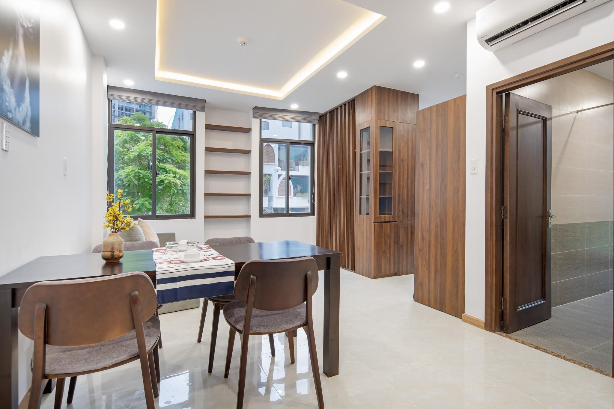 Nice 1BR apartment 60m2 near Pham Van Dong beach – A885