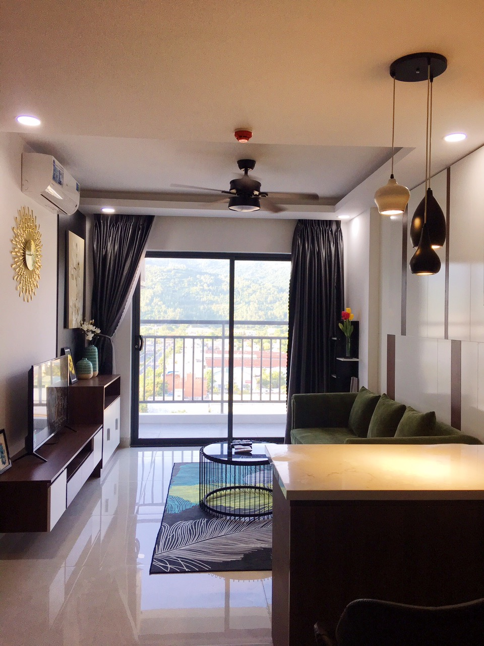 Son Tra Ocean View 1 bedroom apartment on 10th floor – A886