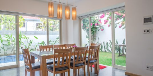 3 bedrooms villa with garden and pool in My An – B744