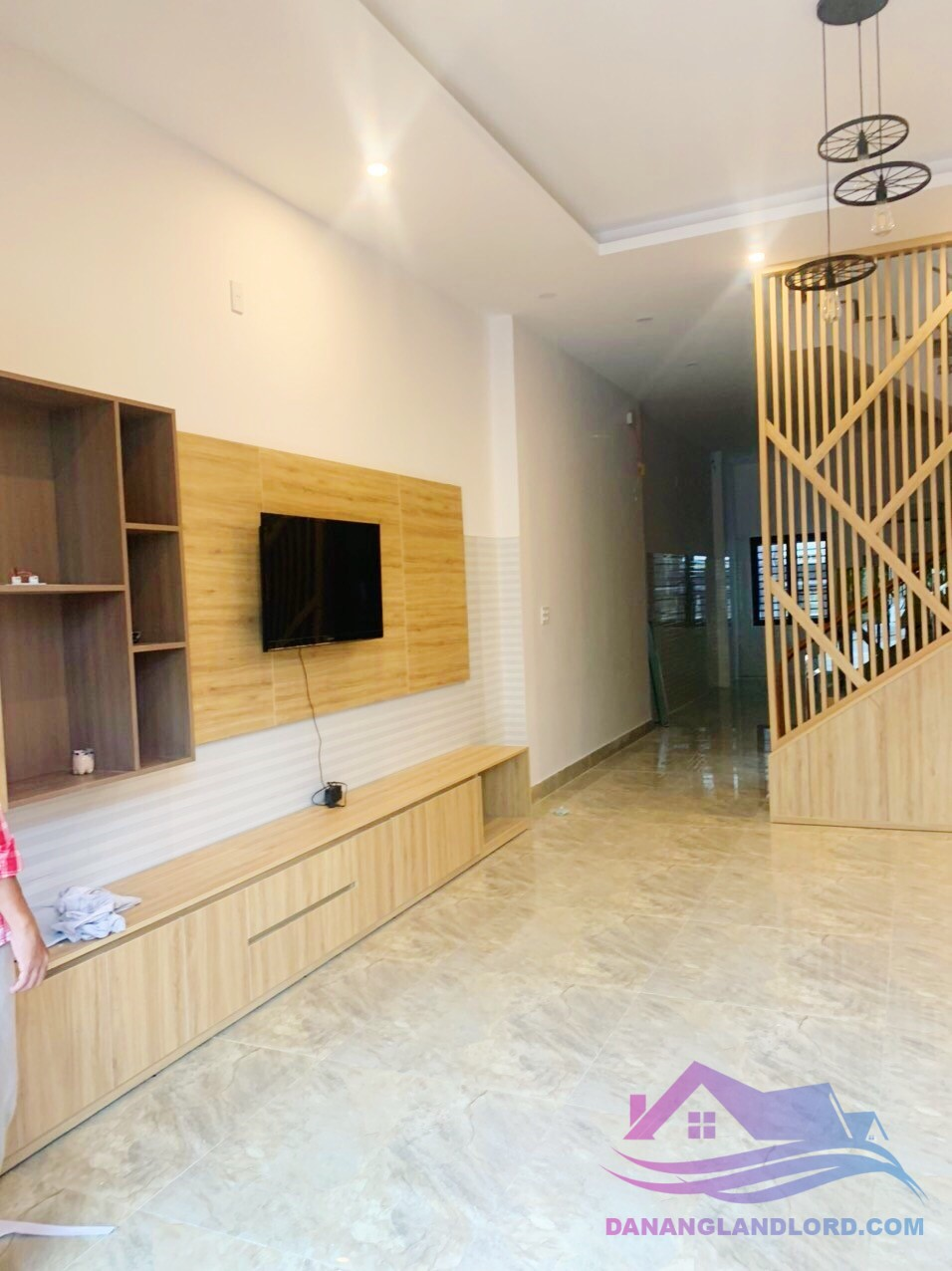 Nice house 3 floors, 4BR in Nam Viet A area – B750