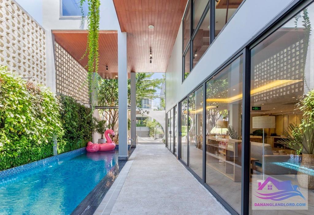 2BR pool apartment near Pham Van Dong beach – A892