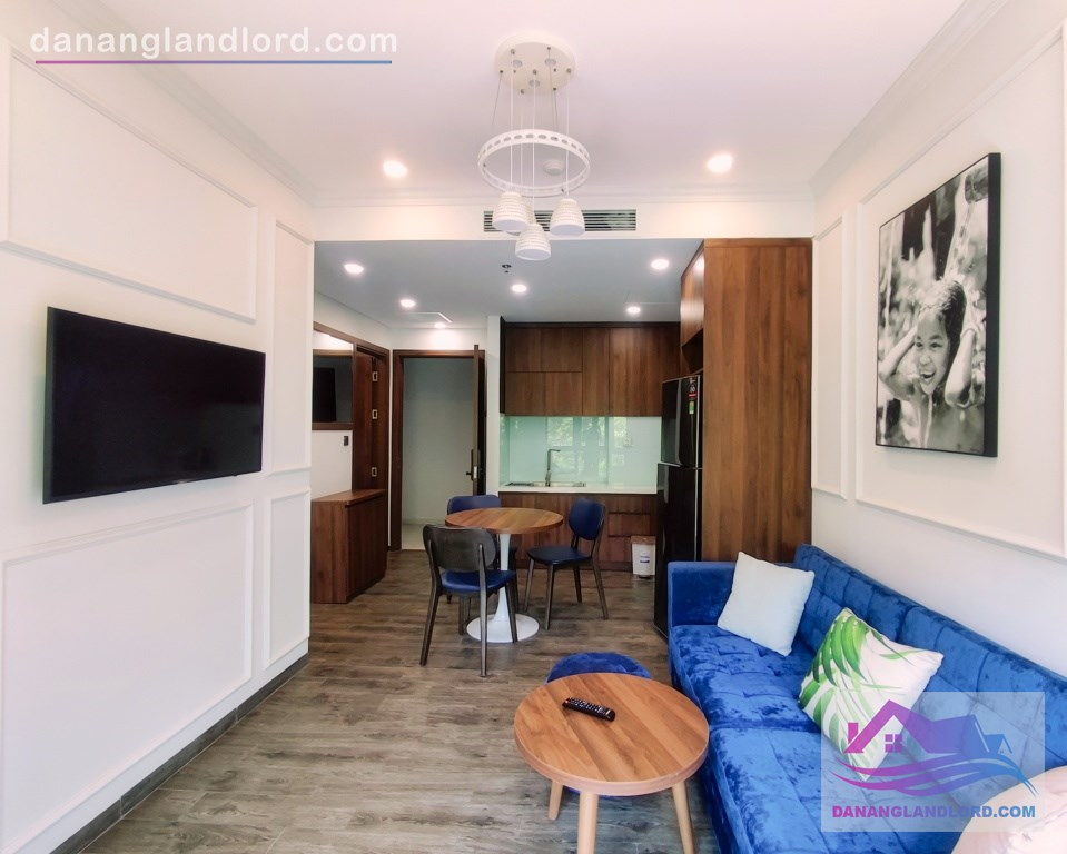 Luxury 1BR Apt with Gym, Pool in An Thuong area – C050